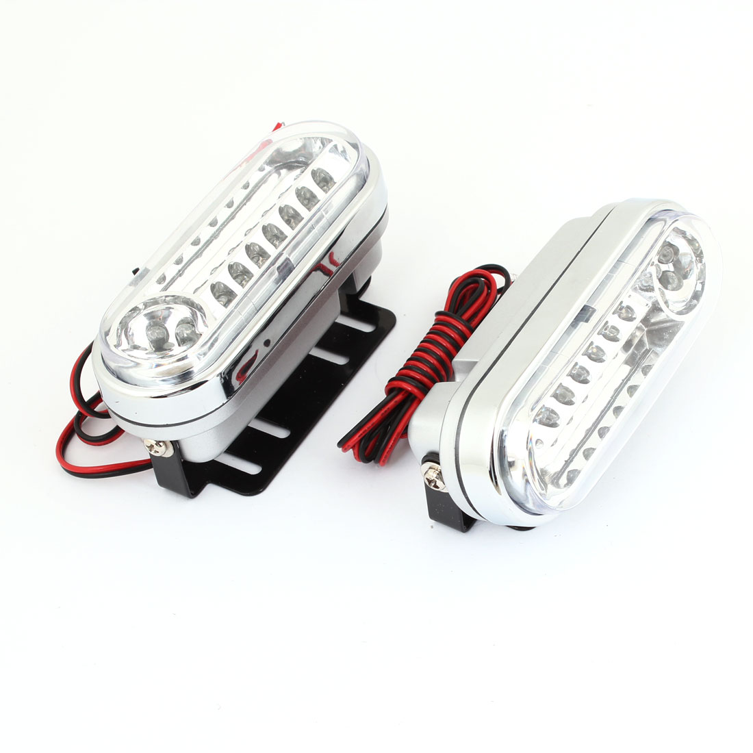 2pcs DC 12V Universal Warm White 21 LED DRL Daytime Running Light for Auto Car