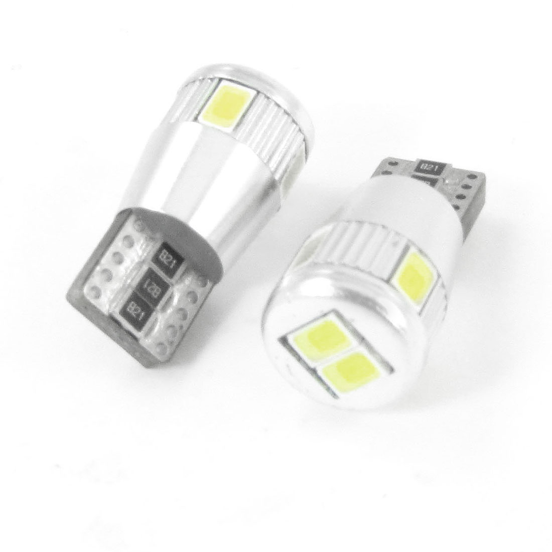2 Pcs T10 159 6 White 5630 SMD LED Auto Car Error Free Canbus Light