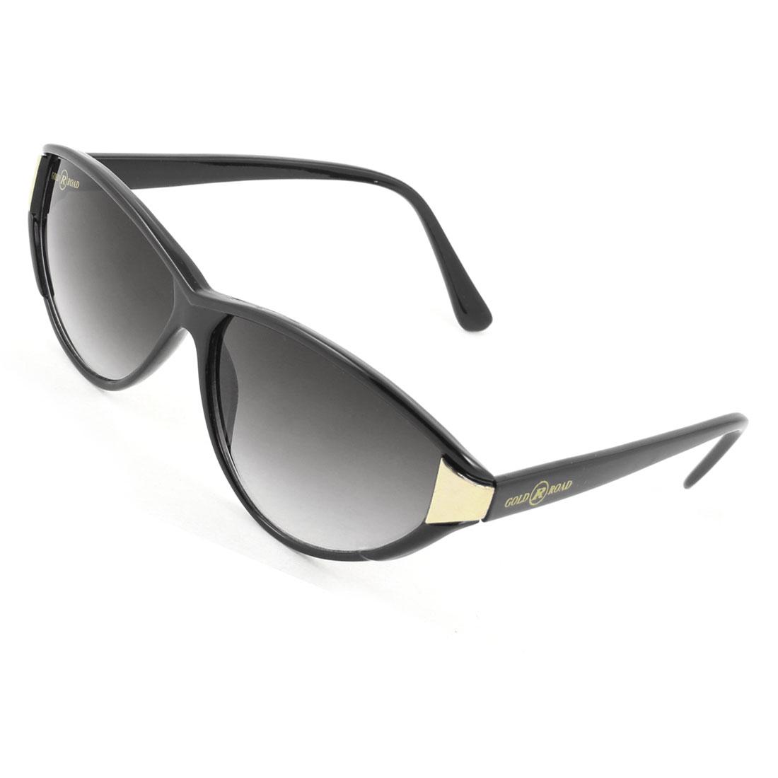 Lady Women Wayfarer Black Full Rim Protector Sunglasses Eyeglasses Glasses