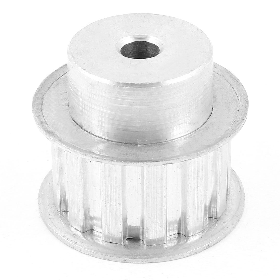 21mm Width Groove Belt 8mm Bore 13 Teeth Timing Pulley Gears Silver Tone