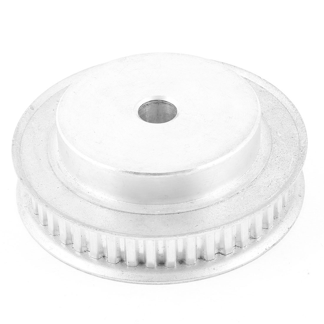 11mm Width Groove Belt 44 Tooth 77mm x 25mm Alloy Timing Pulley Silver Tone