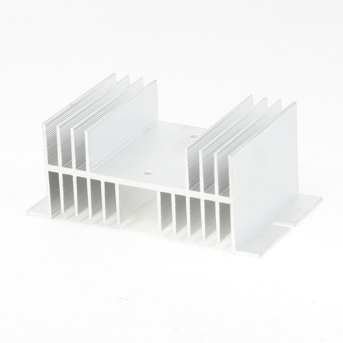 Aluminum Heat Sink for Single Phase Solid State Relay 125mmx70mmx50mm