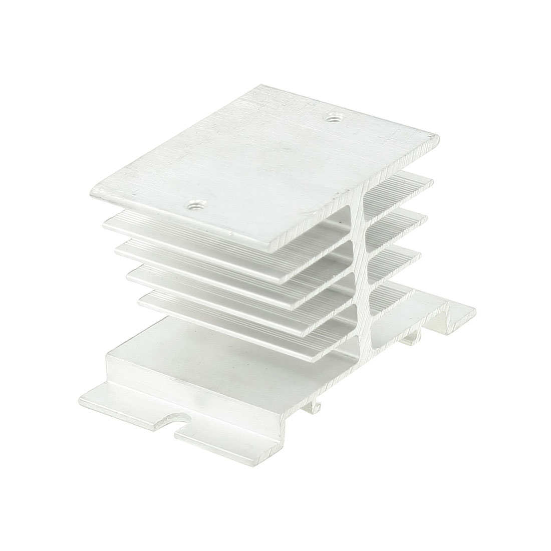 Dissipation Aluminum Heat Sink for Single Phase Solid State Relay