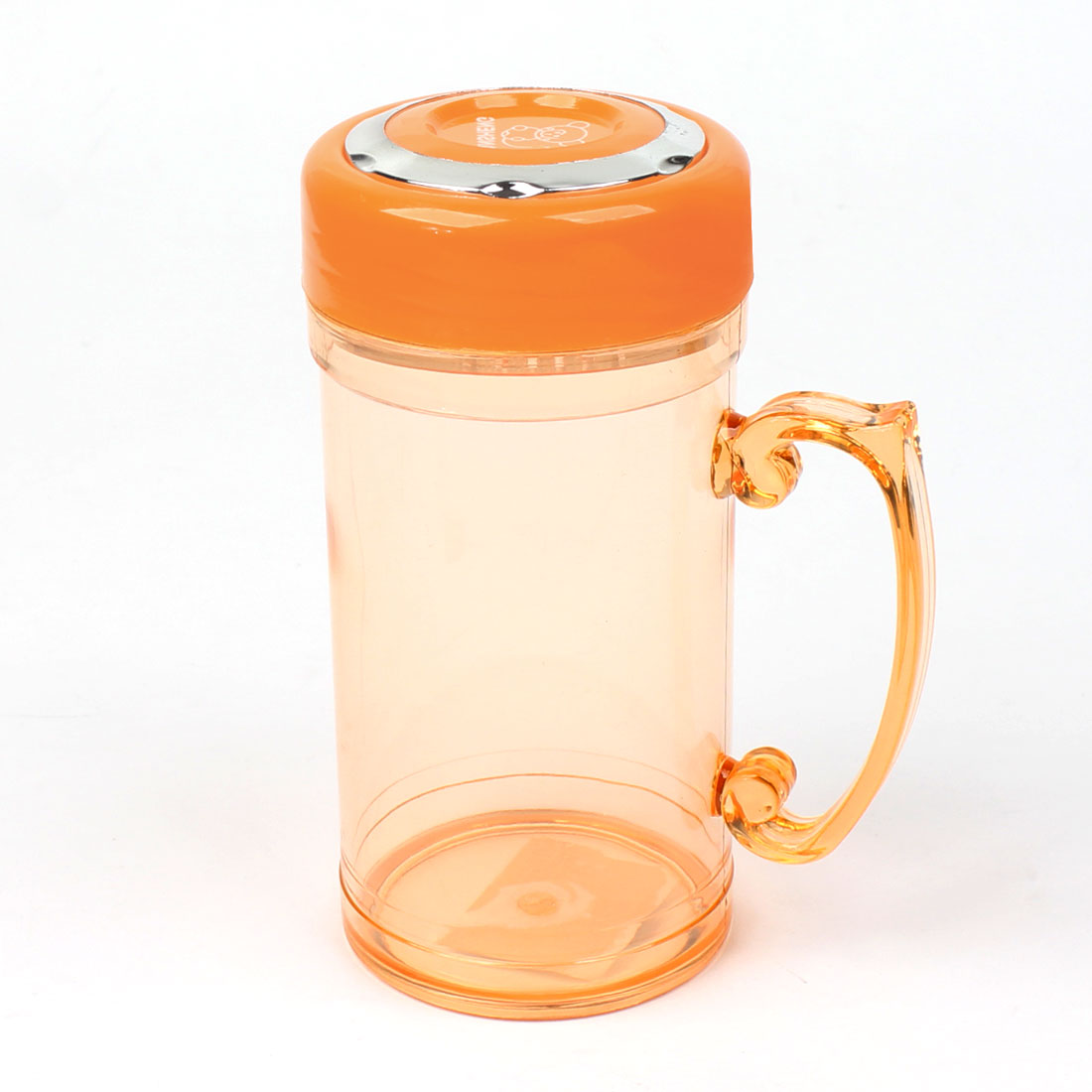 420ml Clear Dark Orange Tea Strainer Drinking Water Cup Bottle