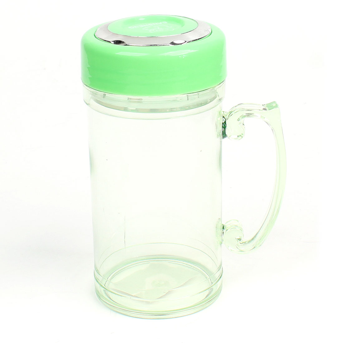 420ml Clear Lawn Green Tea Strainer Drinking Water Cup Bottle