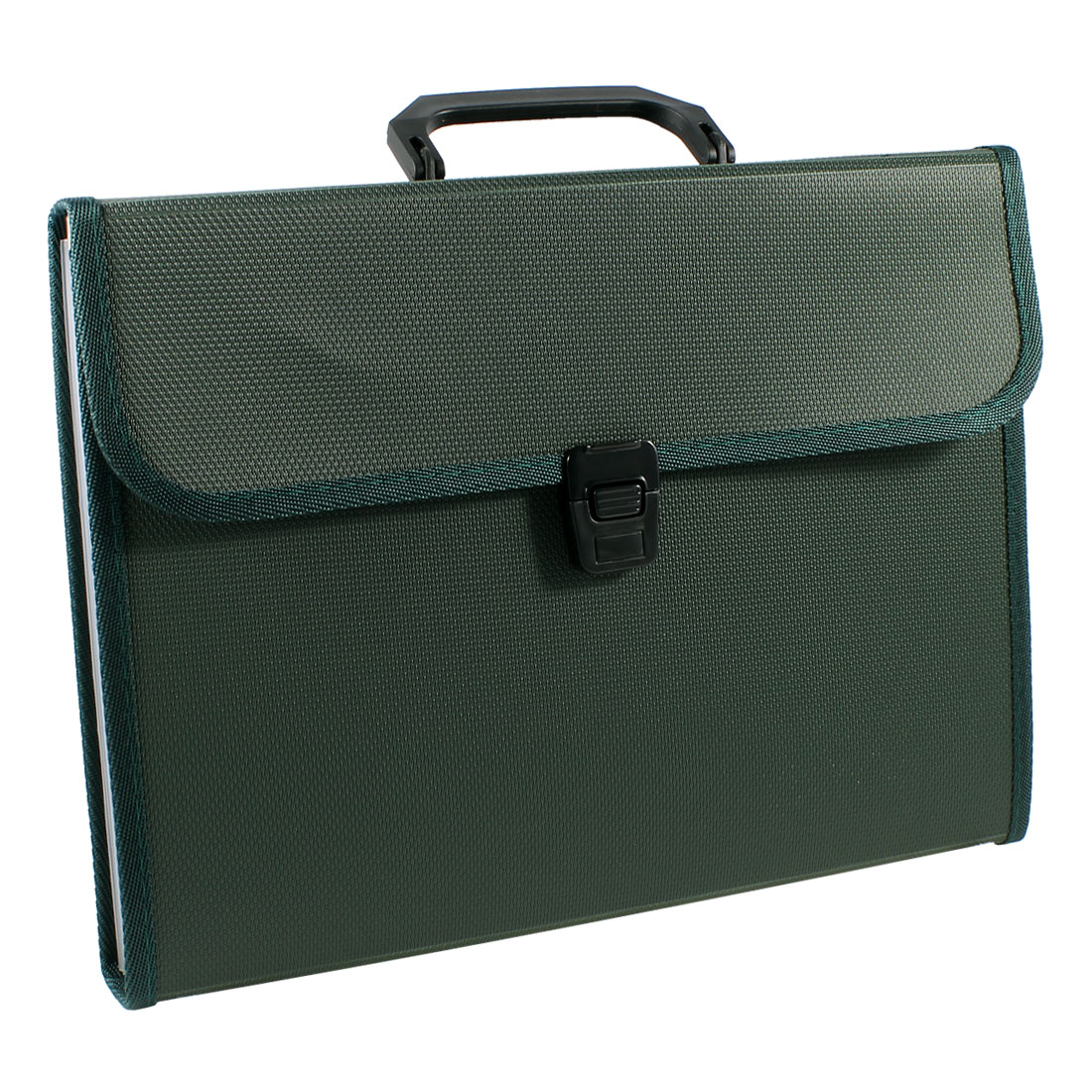 A4 Paper Pen Document Qucik Release Buckle File Bag Holder Army Green