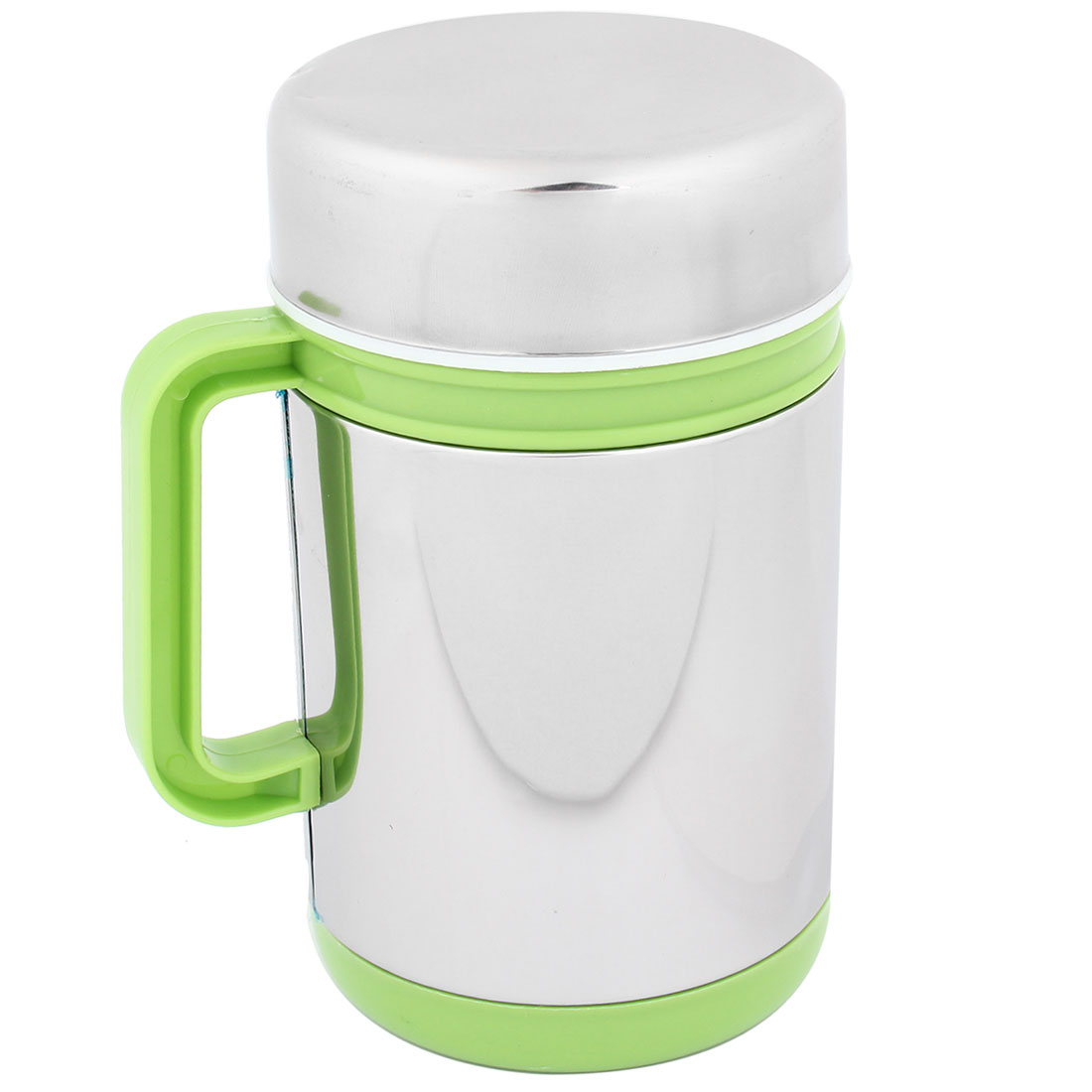 Home Office Green Handgrip Tea Water Cup Mug 10 oz 300ml