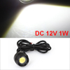 1W Bolt on Screw White LED Eagle Eye Rear Backup Lamp for Car