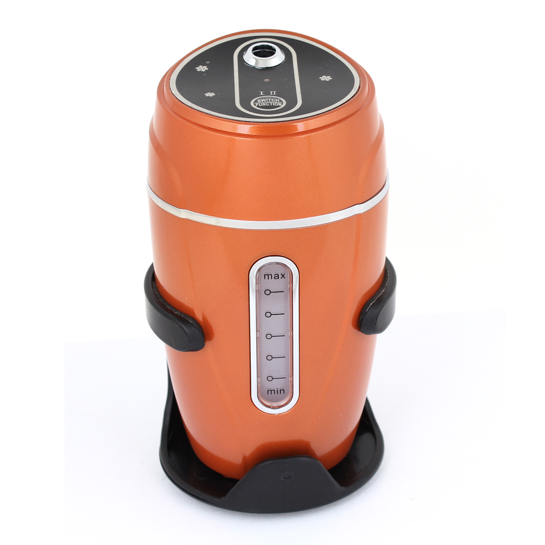 Auto Office Home USB Car Charger Air Humidifier Moist Filter Orange Red 180ml