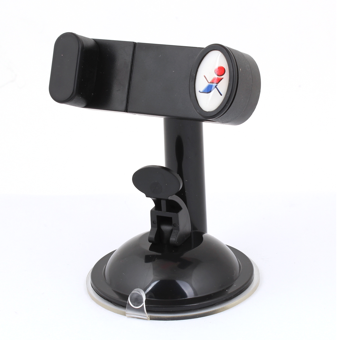 Car Vehicle Black Adhesive Rotated 360 Degrees Smartphone Holder Sucker Stand