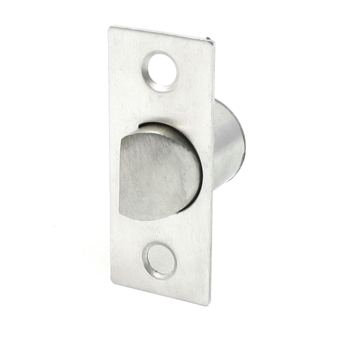 Cabinet 21mm Male Thread Metal Panel Cam Lock Silver Tone
