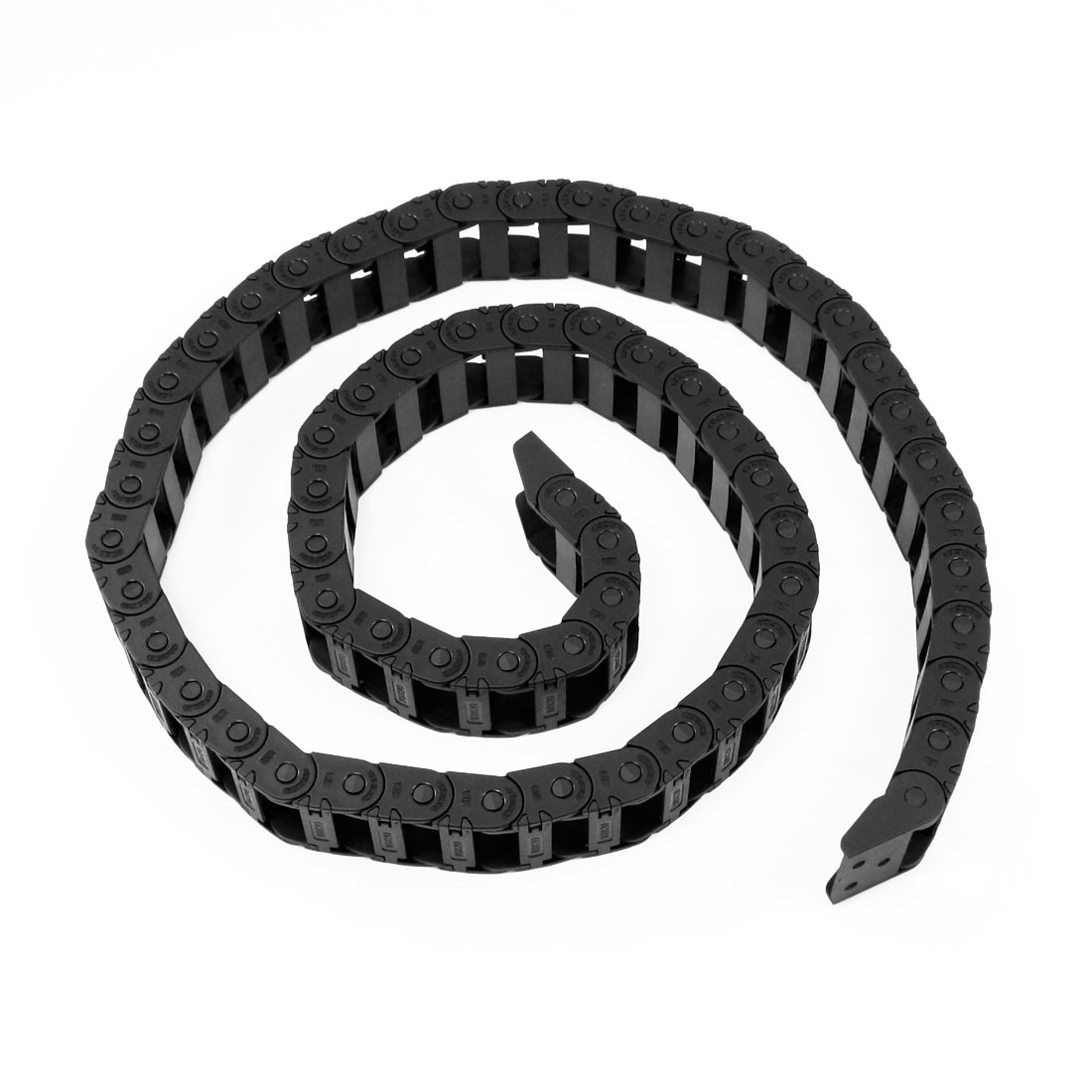 105cm Black Cable Wire Carrier Drag Chain Nested 10mm x 20mm