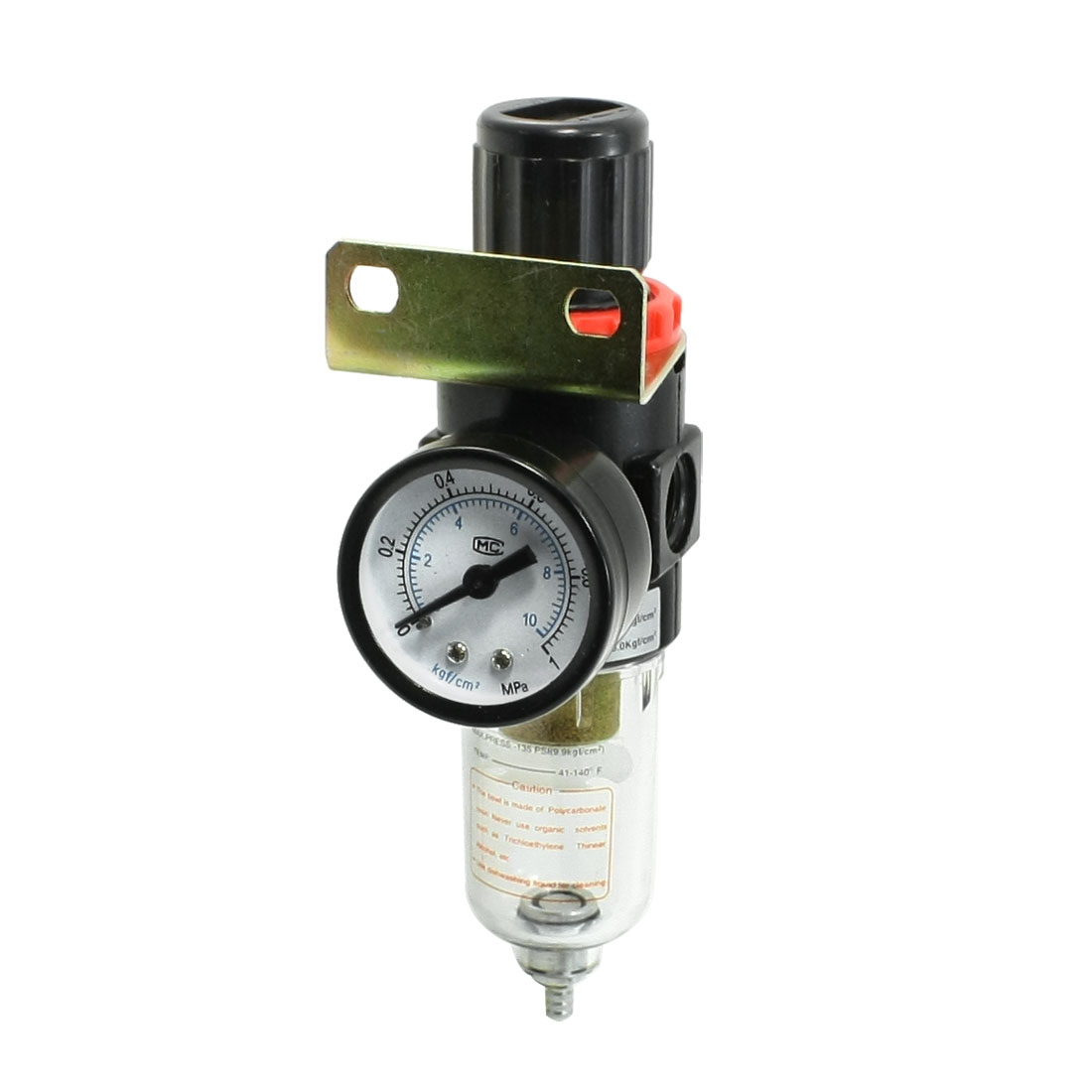 Pneumatic Adjustable Pressure Regulator Air Source Treatment 0-1Mpa