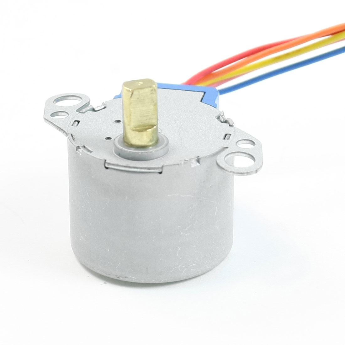 CW/CCW 5mm Shaft Metal Shell Fan Synchronous Motor 24RPM DC 12V