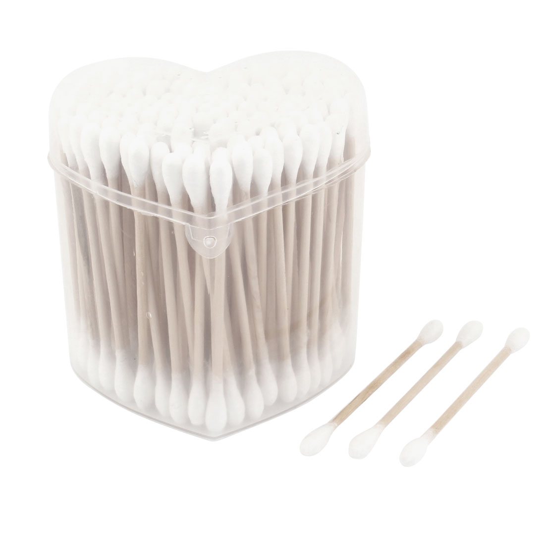 100 Pcs Double Tipped Stick Cosmetic Make Up Cotton Swabs Buds