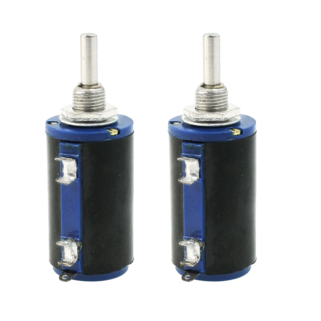 WXD3-13 2W 10K ohm Multi Turn Wirewound Potentiometers Pot 2 Pcs