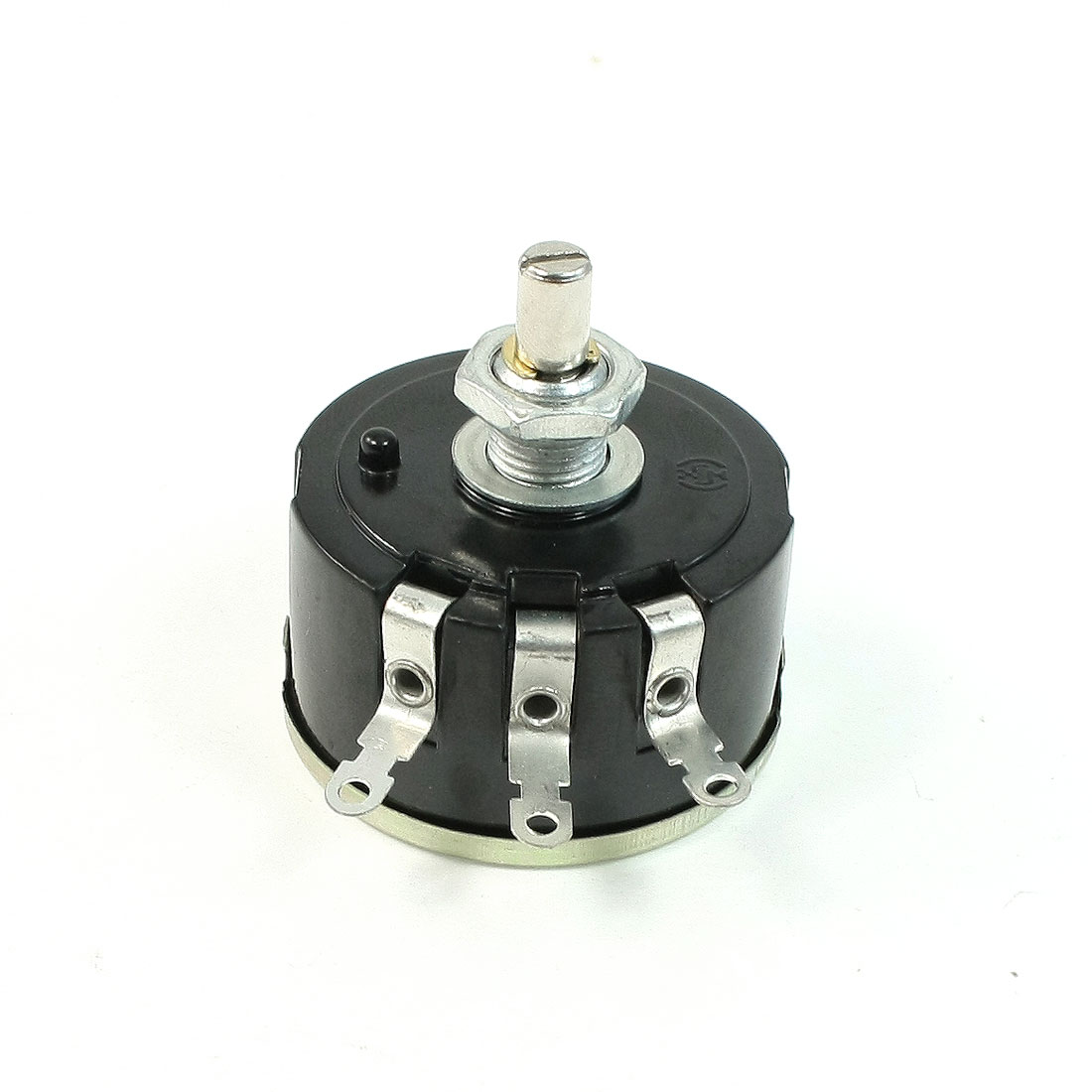 6mm Shaft 4K Ohm 5W Variable Resistor Wirewound Potentiometer