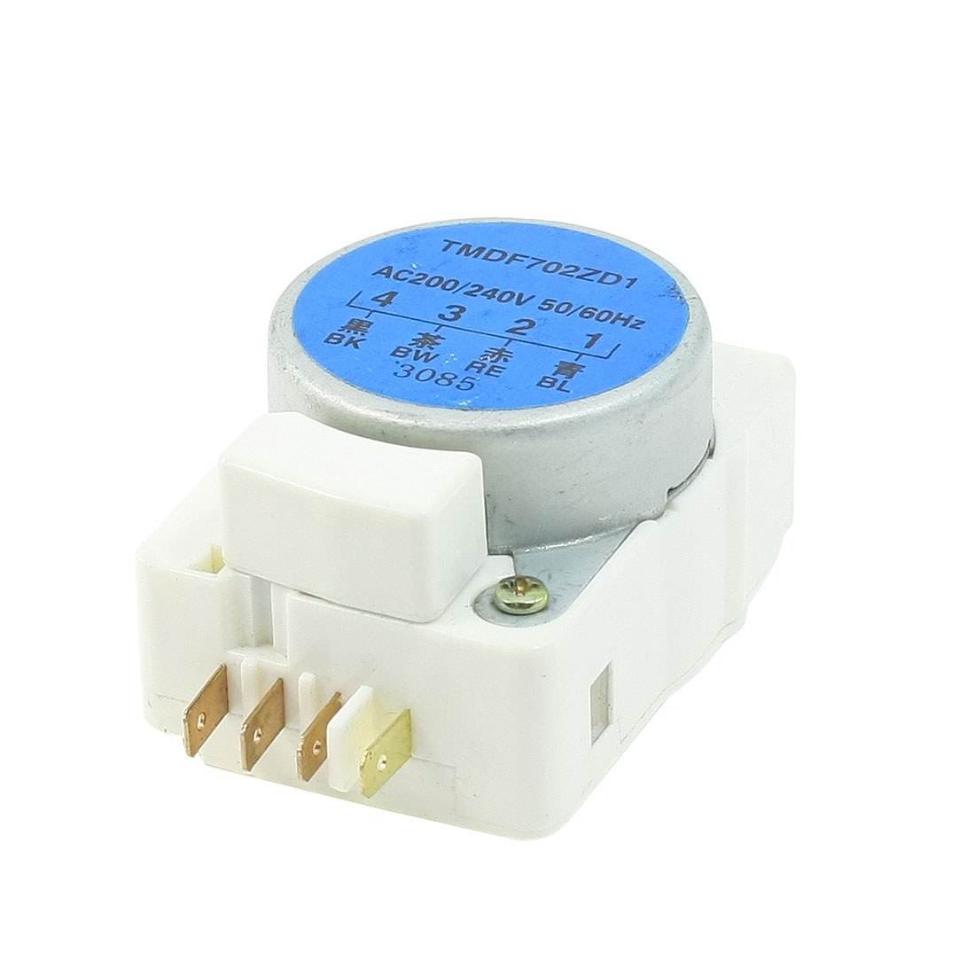 Marked 4 Pins Refrigerator Defrost Timerontrol AC 200/240V 50/60Hz