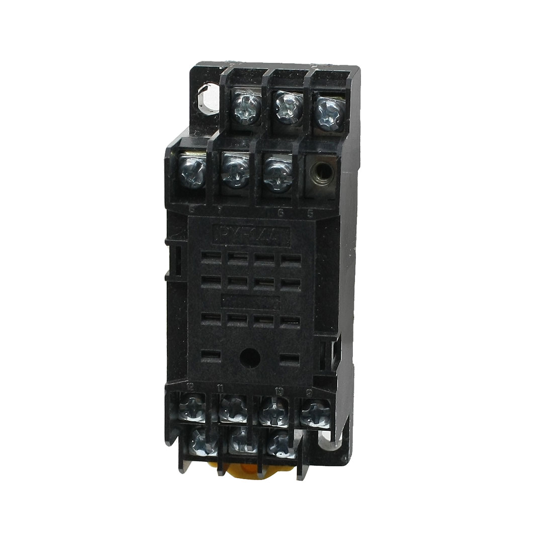 PYF14A 14 Pin Terminal Relay Socket Base Black for MY4NJ HH54P Power Relay