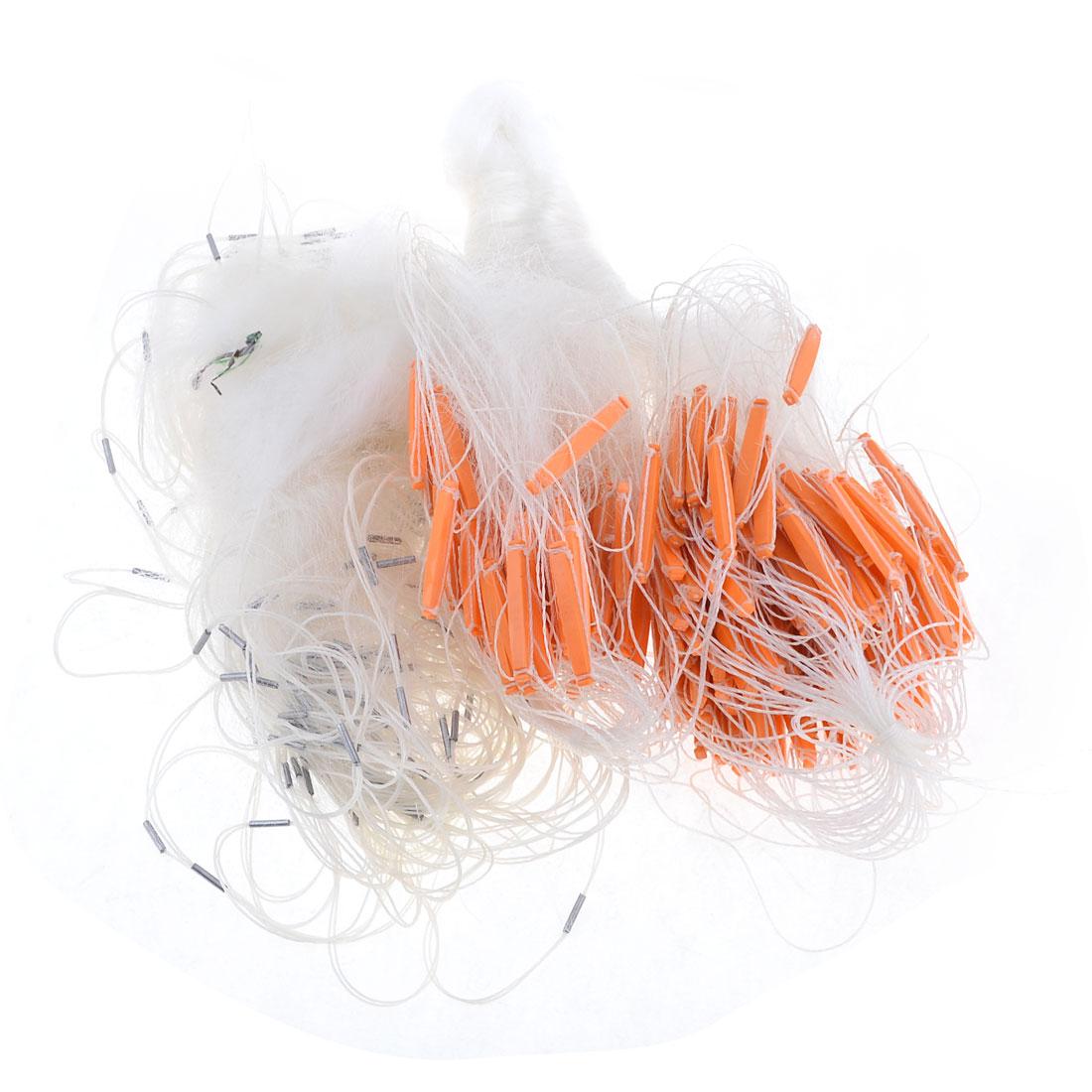 3cm Mesh Hole 60mx2m Monofilament Fish Gill Net Fishing Tool