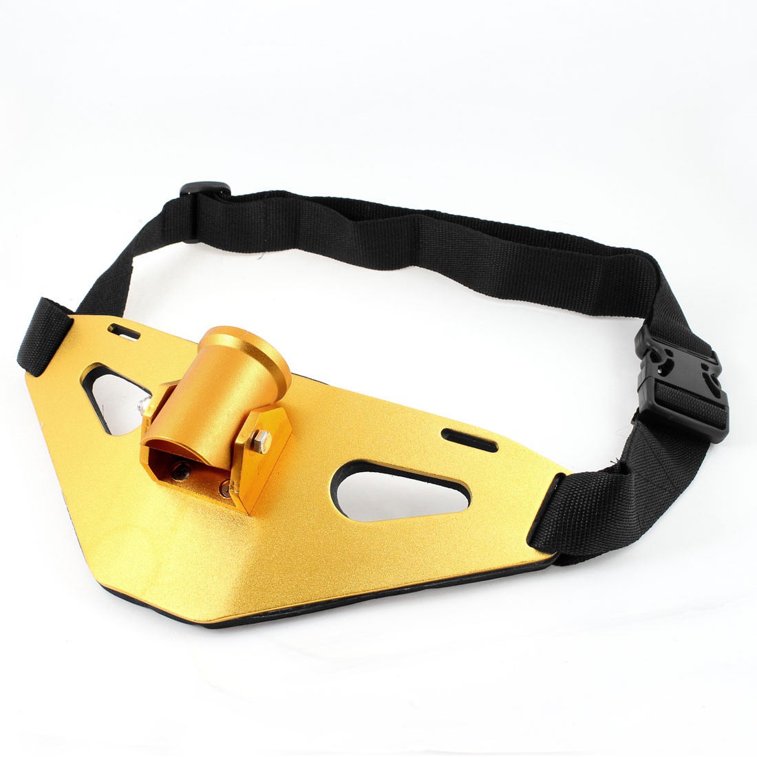 Adjustable Fish Gears Fishing Tools Alloy Waist Belly Belt Yellow