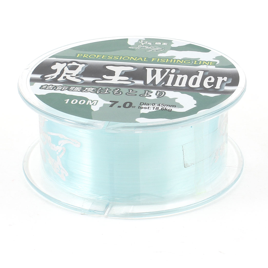 7# 0.45mm Diameter 100 Meter Thread 18.6Kg 54lb Fishing Line Spool Blue
