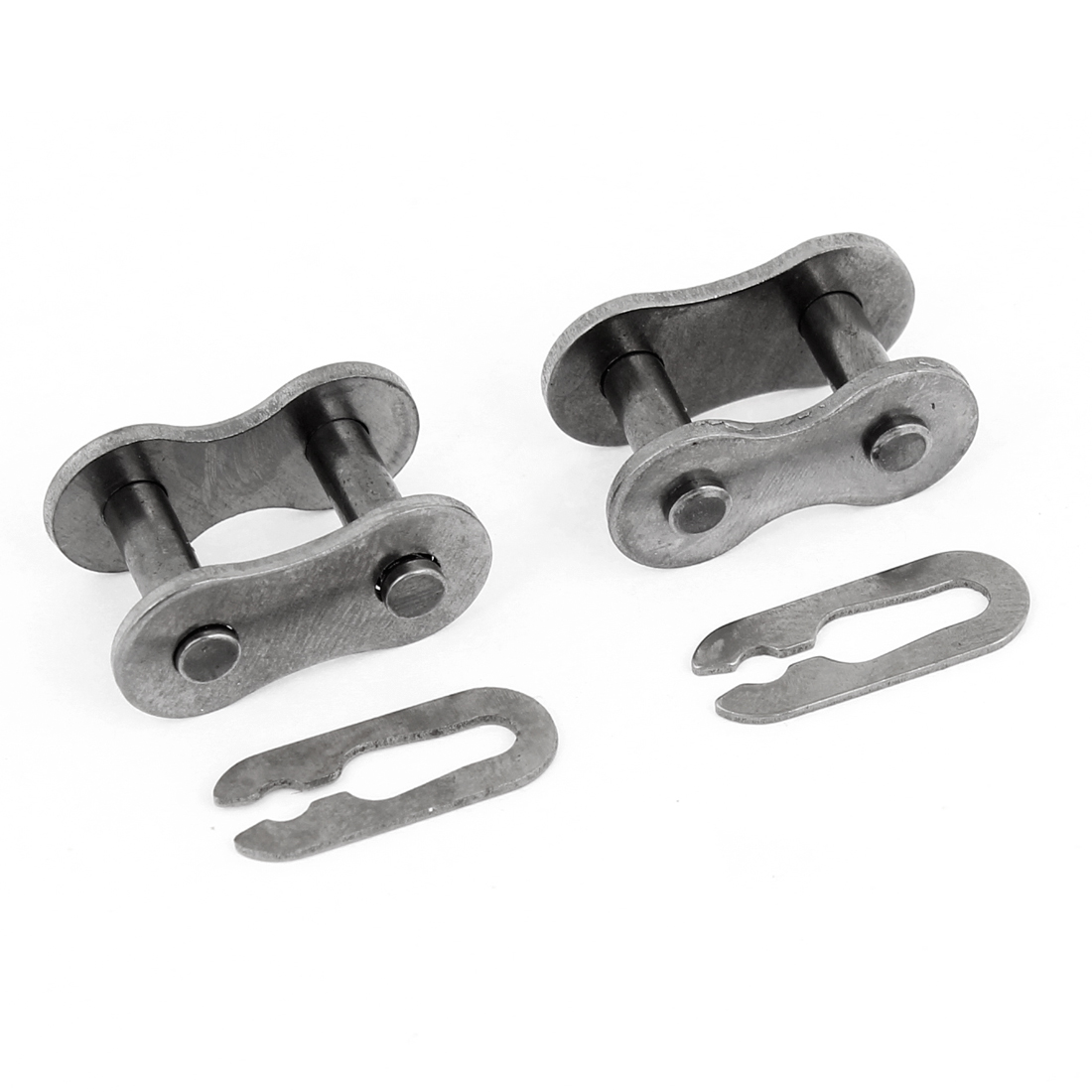 Motorbike Motorcycle 420 Non Ring Chain Master Joint Links Clip 2 Pcs