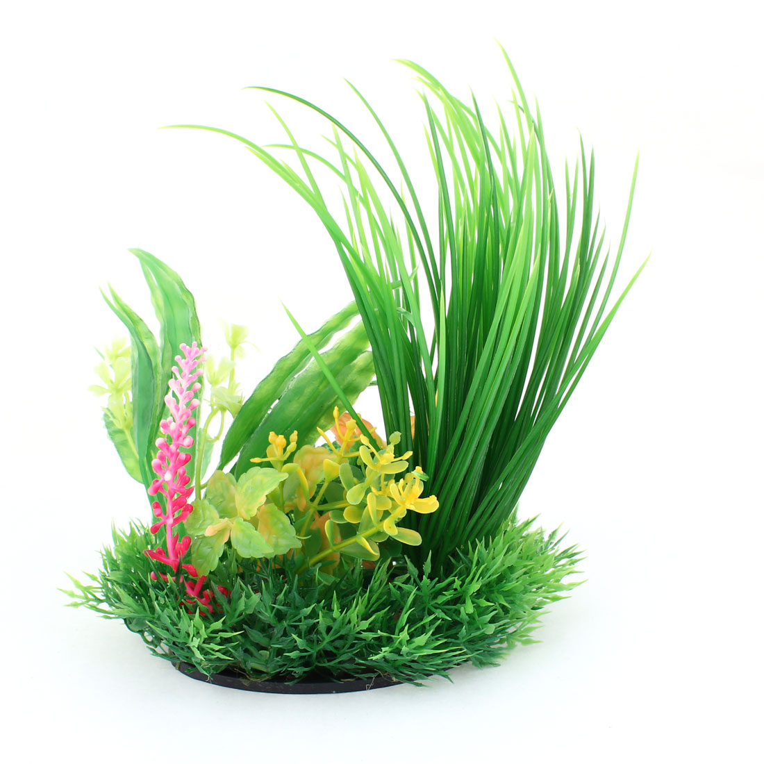 "6.7"" Height Green Plastic Emulational Underwater Plant Fish Tank Decoration"