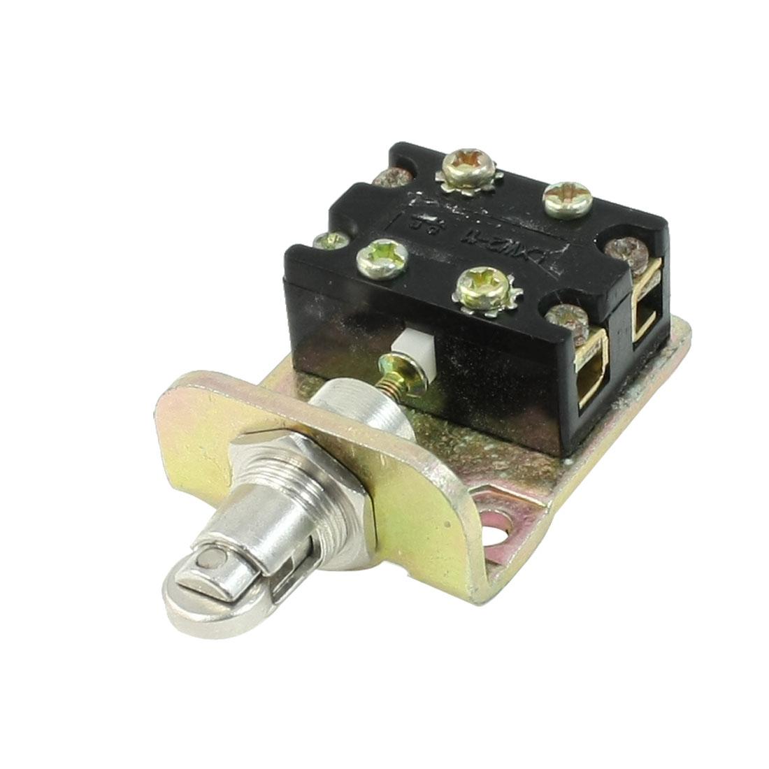 AC 380V 5A Parallel Roller Actuator 2NO+2NC DPDT 2P2T Limit Switch LXK2-411K