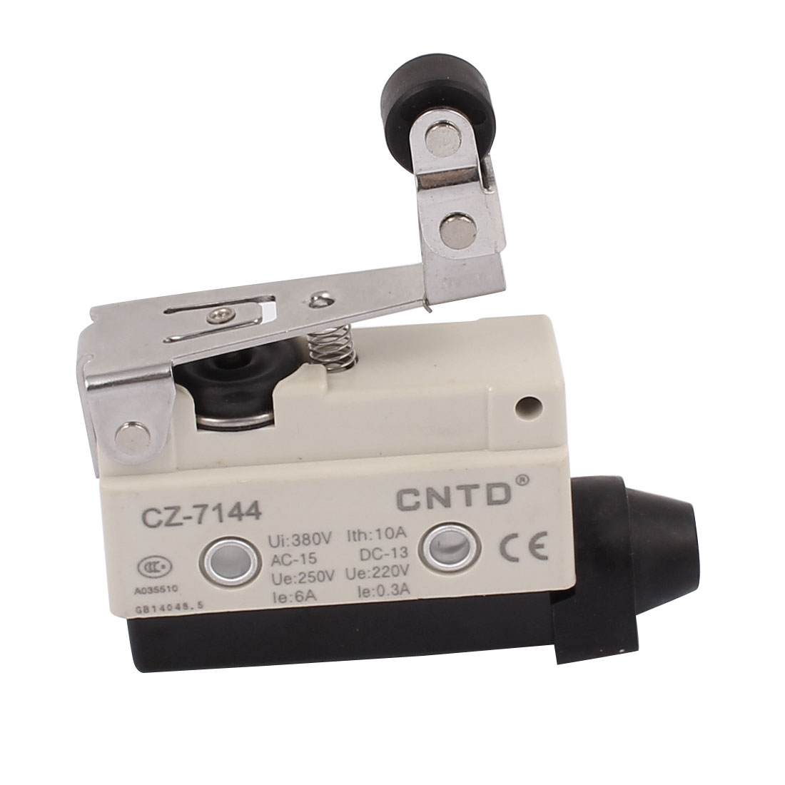 CZ-7144 AC 380V 10A Long Hinge Roller Lever Enclosed Micro Limit Switch