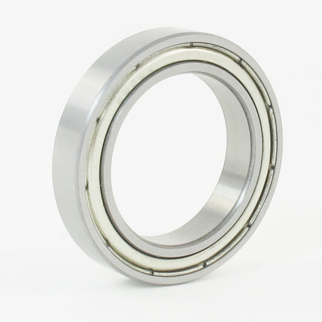 25mm x 37mm x 7mm 6805Z Radial Shielded Deep Groove Ball Bearing Silver Tone