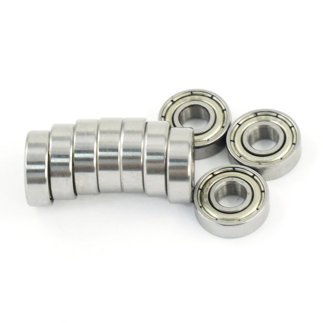 10 Pcs 695Z Dual Metal Shields Deep Groove Ball Bearing 5mm x 13mm x 4mm