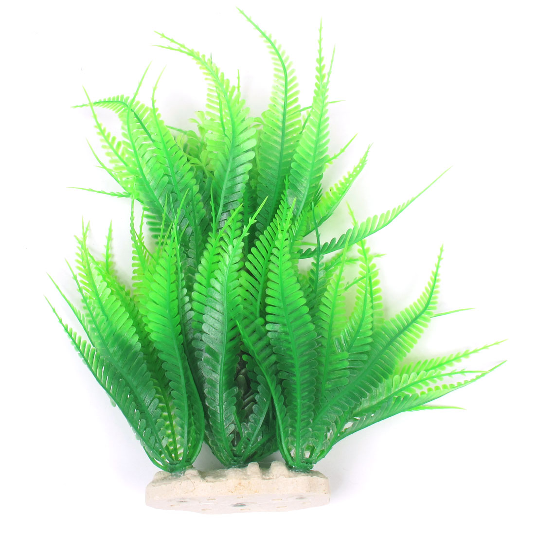 "9"" High Green Aquariums Aquascape Emulational Aquatic Coconut Tree Grass Decor"