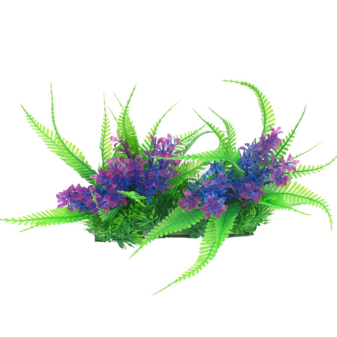 """Aquarium Underwater Aquascaping Green Plastic Simulation Plants 7"""""""