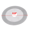 100mm x 20mm x 0.8mm Double Sided Glass Diamond Saw Slice Cutting Disc
