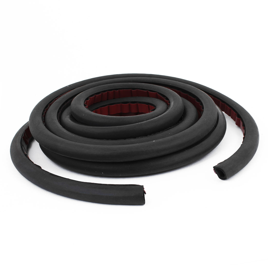Car Air Sealed Rubber Hollow Sealing Strip Door Weatherstrip 9.8ft x 13mm x 10mm