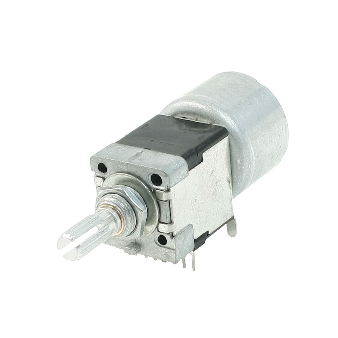 Single Linear Type 3 Terminals Rotary Taper Potentiometer 50K Ohm w Motor