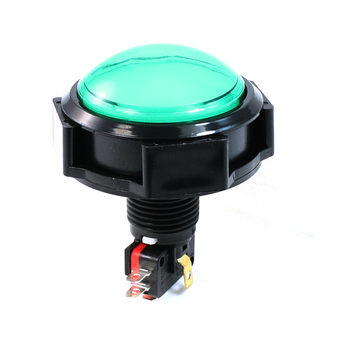 DC 12V Blue Green Pilot Light Momentary Push Button Switch AC 125V/250V 15A