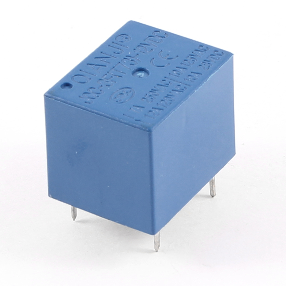 Blue PCB Type DC 12V SPDT 5 Pin Mini Power Relay JQC-3F(T73)