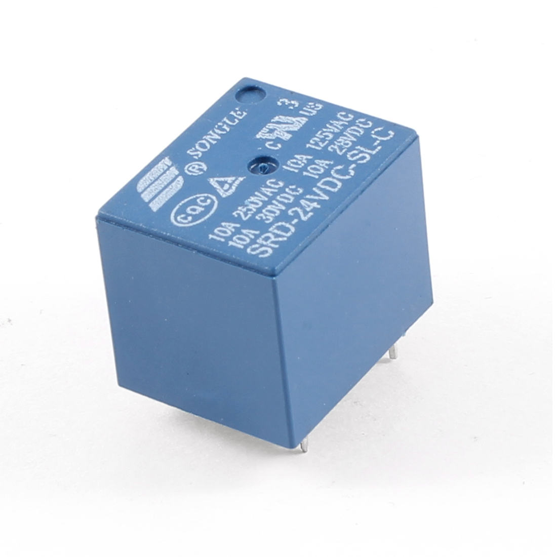 Blue PCB Type DC 24V SPDT 5 Pin Mini Power Relay SRD-24VDC-SL-C