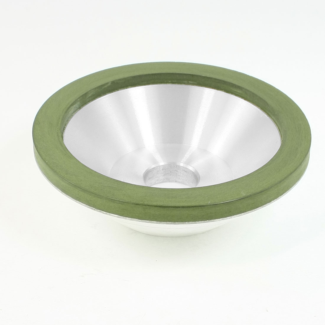 100mm OD 20mm Mounted Hole Resin Bond 1000 Grit Diamond Grinding Wheel