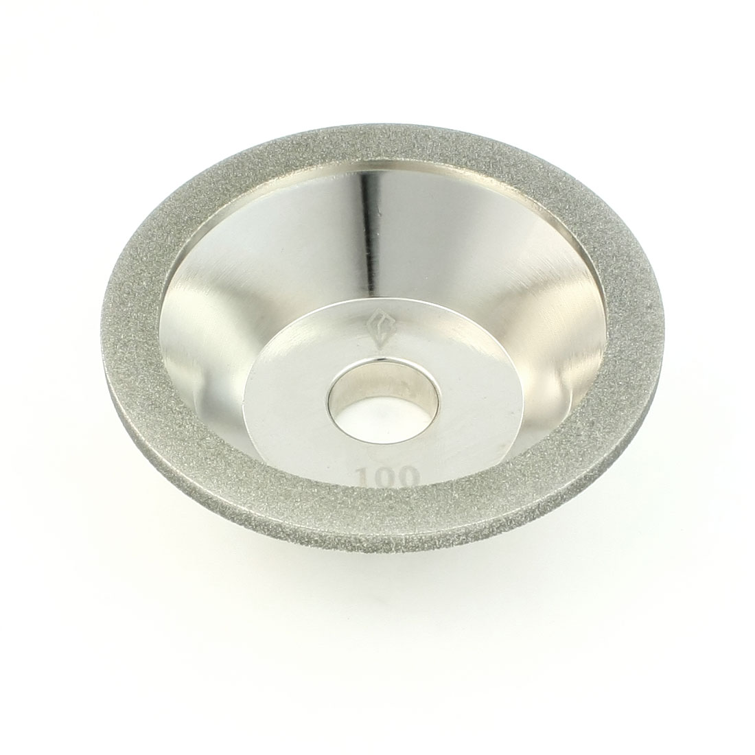 100mm OD 20mm Mout Hole 35mm Thick 100# Hardware Parts Diamond Grinding Wheel