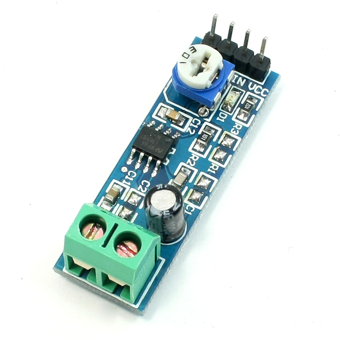 5V-12V LM386 Chip 20 Multiplier Gain Audio Amplifier Module