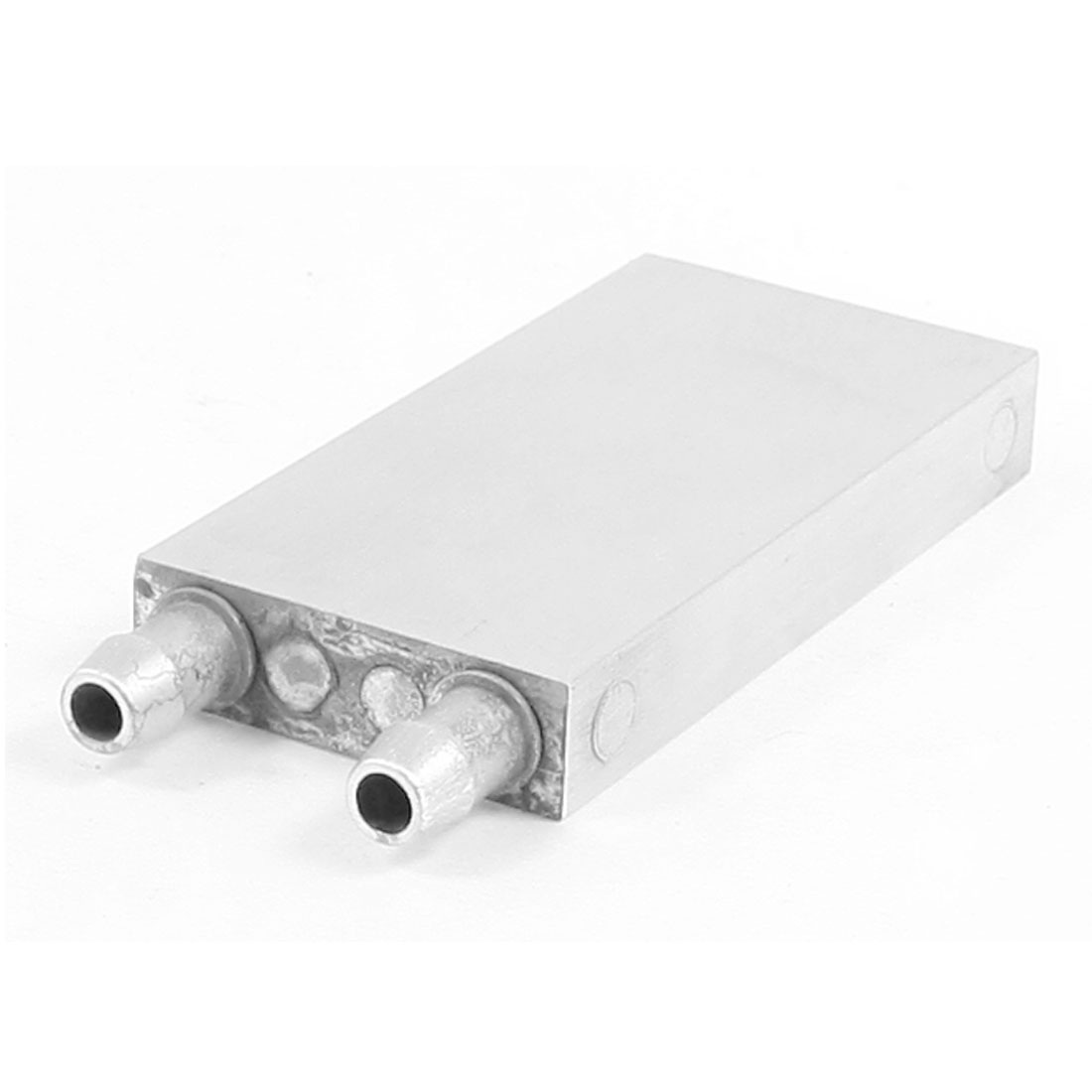 80x40x12mm Aluminum Water Cooling Block for CPU Graphics Radiator Heatsink