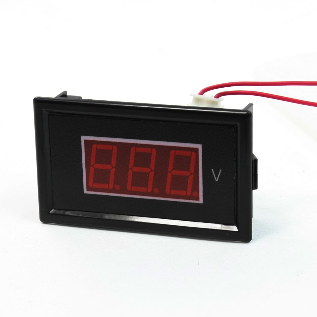 AC 60-500V 2-Wire Mini Red LED 3-Digit Volt Voltage Panel Meter Voltmeter