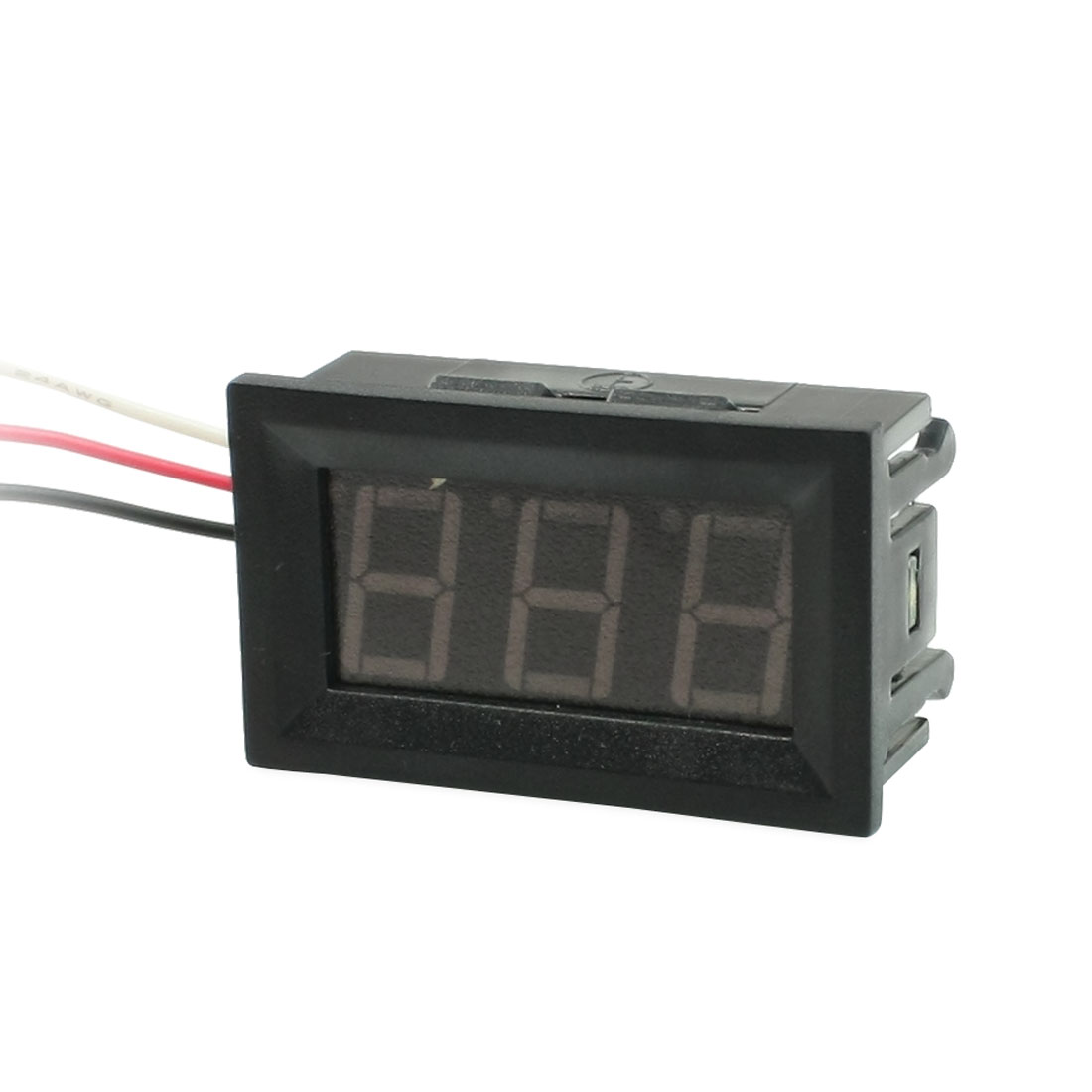 DC 0-100V 3-Wire Mini Red LED 3-Digit Volt Voltage Panel Meter Voltmeter