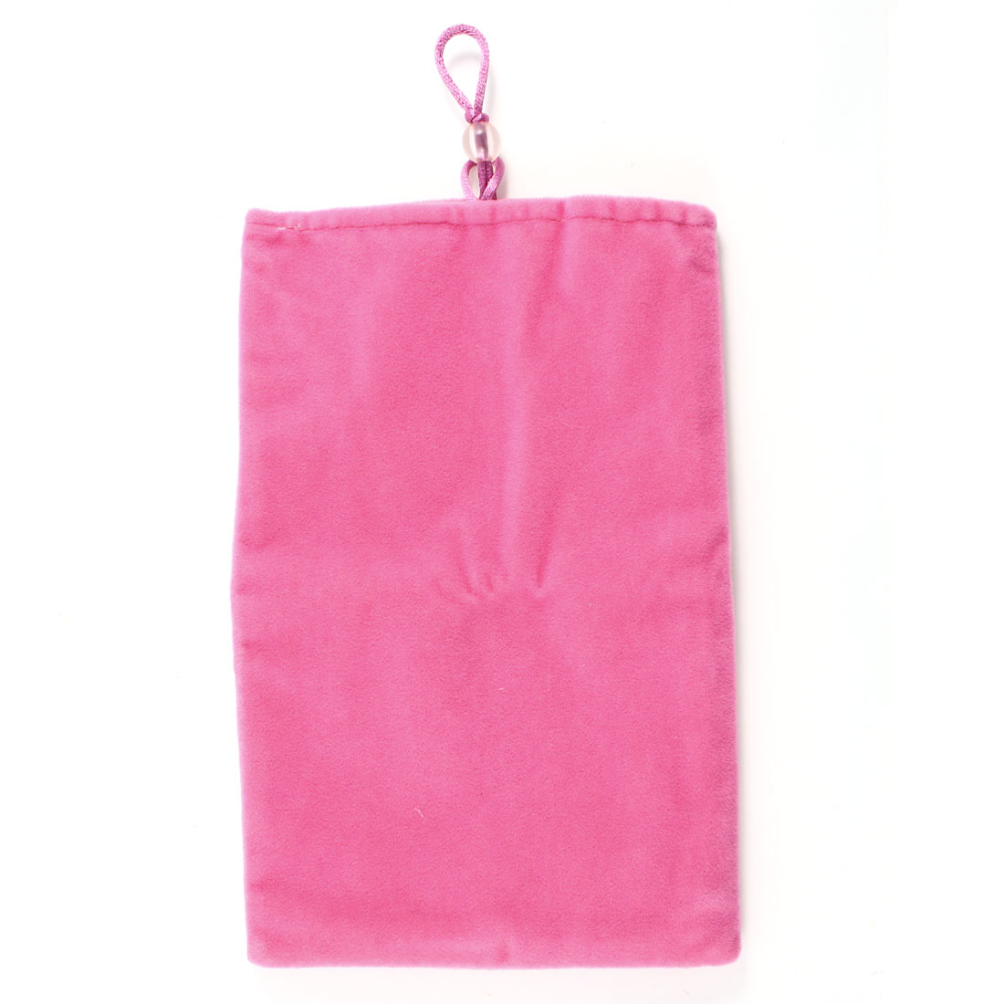 "7"" Tablet Bead Closure Sleeve Bag Pouch Fuchsia for PC"