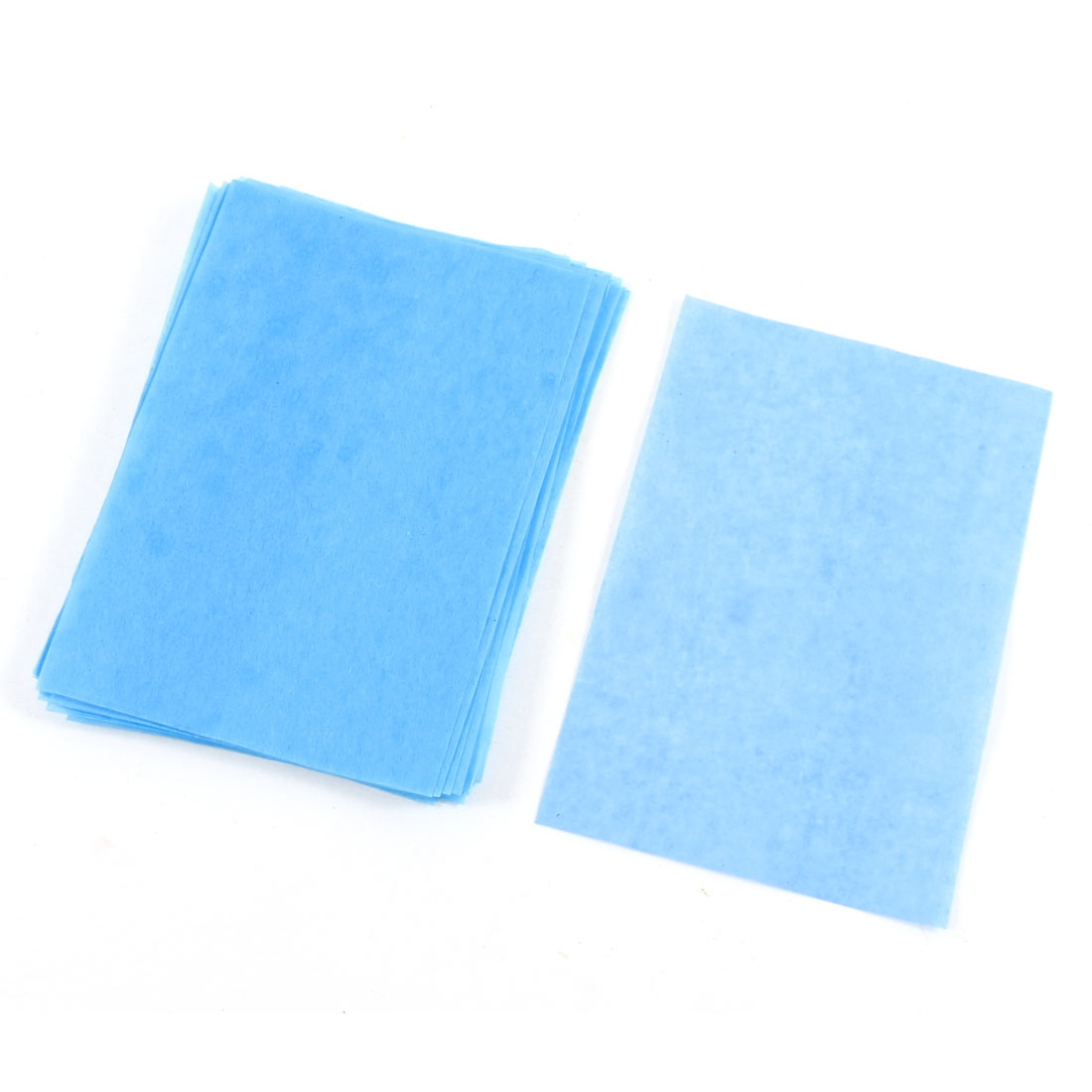 Cyan 36 Sheets Facial Oil Blotting Film Paper Beauty Tool