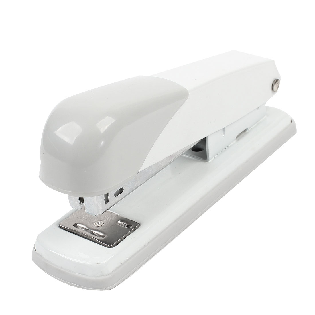 White Light Gray Plastic Housing 24/6 26 Staples Office Desk Stapler