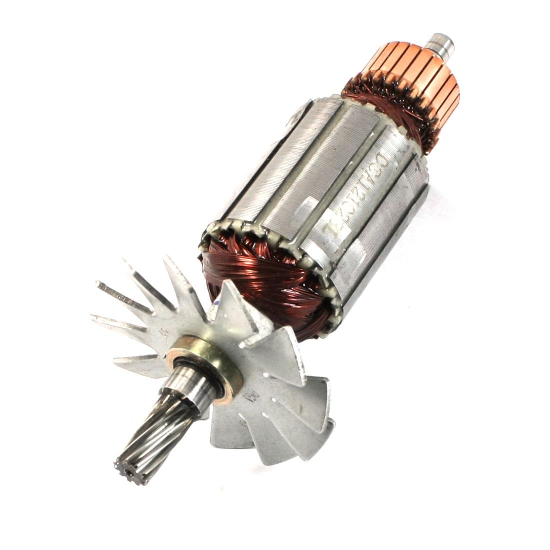 AC220V Electric Polishing Machine Part Shaft Armature Rotor for Makita 9218SB